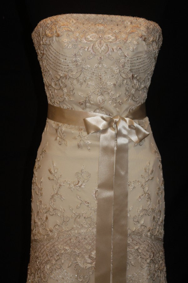 Lazaro Style #3552 - Lazaro - Nearly Newlywed Bridal Boutique - 3