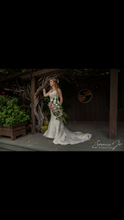 Load image into Gallery viewer, Madison James '4550' size 4 used wedding dress front view on bride