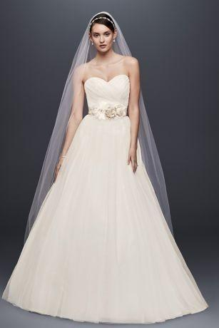 David's Bridal 'Strapless Sweetheart'