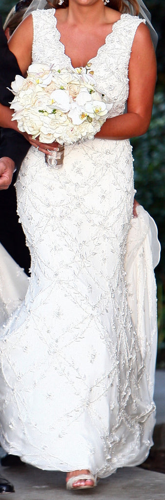 Stephen Yearick 'Beaded' - Stephen Yearick - Nearly Newlywed Bridal Boutique - 2
