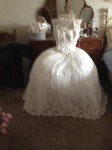 Mon Cheri 'Appliqued Dress' - Nearly Newlywed - Nearly Newlywed Bridal Boutique - 2