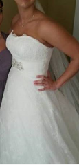Demetrios 'Ivory Lace' - Demetrios - Nearly Newlywed Bridal Boutique - 8
