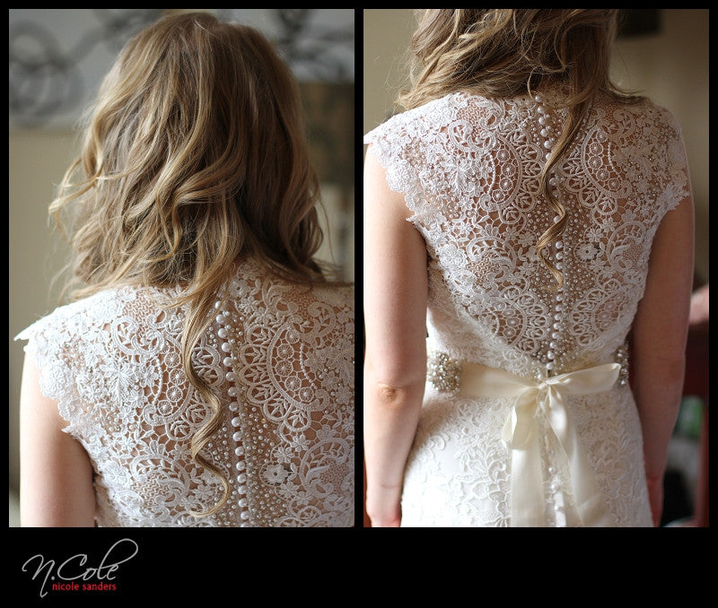 Allure Bridals '9113' - Allure Bridals - Nearly Newlywed Bridal Boutique - 4