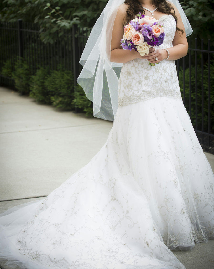 Lazaro '3217' - Lazaro - Nearly Newlywed Bridal Boutique - 2