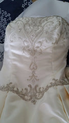 Jasmine Princess Gown With Cathedral Train - Jasmine - Nearly Newlywed Bridal Boutique - 3