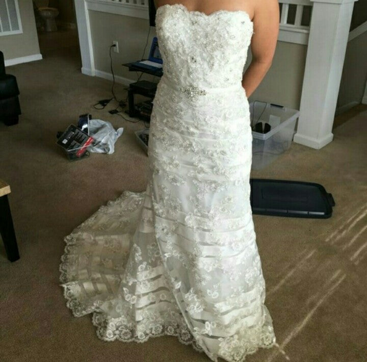 Maggie Sottero 'Kimberlyn' - Maggie Sottero - Nearly Newlywed Bridal Boutique - 1