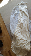 Rivini 'Eros' size 2 new wedding dress front view on hanger