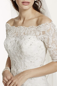Jewel 'Off The Shoulder' - Jewel - Nearly Newlywed Bridal Boutique - 1