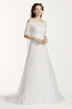 Load image into Gallery viewer, Jewel 'Off The Shoulder' - Jewel - Nearly Newlywed Bridal Boutique - 3