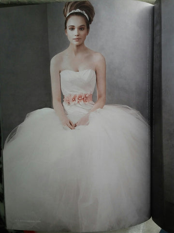 Vera Wang White 'Taffeta and Tulle'