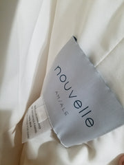 Amsale 'R103G' size 4 sample wedding dress view of tag
