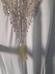 Allure 'Romance' size 10 new wedding dress back view of dress
