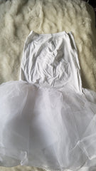David's Bridal 'Ivory Ballgown' size 18 used wedding dress view of slip