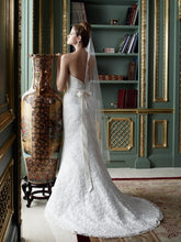 Load image into Gallery viewer, Casablanca 2081 Lace Trumpet Wedding Dress - Casablanca - Nearly Newlywed Bridal Boutique - 2