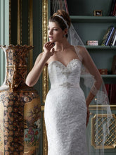 Load image into Gallery viewer, Casablanca 2081 Lace Trumpet Wedding Dress - Casablanca - Nearly Newlywed Bridal Boutique - 1