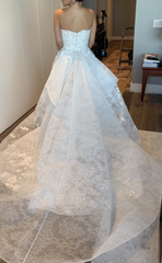 Gemy Maalouf 'W18 5519' wedding dress size-06 PREOWNED