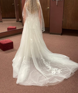 Maggie Sottero 'Raelynn' wedding dress size-04 NEW