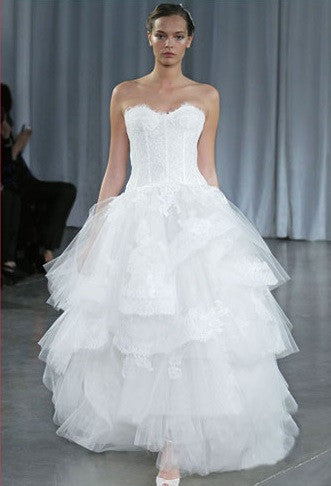 Monique Lhuillier 'Rapture' - Monique Lhuillier - Nearly Newlywed Bridal Boutique - 7