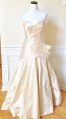 James Clifford 'Pleated Sweetheart' - James Clifford - Nearly Newlywed Bridal Boutique - 1