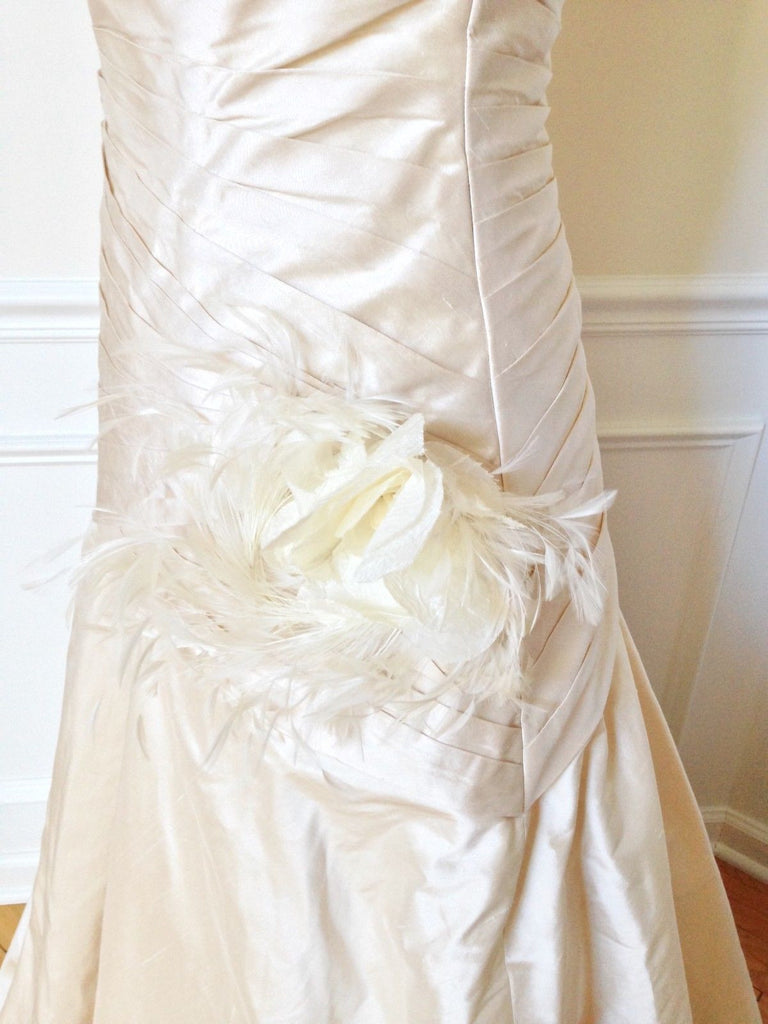 James Clifford 'Pleated Sweetheart' - James Clifford - Nearly Newlywed Bridal Boutique - 4