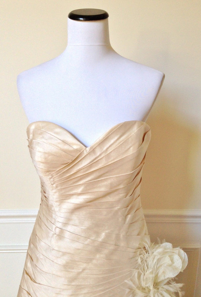 James Clifford 'Pleated Sweetheart' - James Clifford - Nearly Newlywed Bridal Boutique - 5