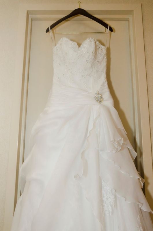 Demetrios 'Sweetheart Neckline Ballgown' - Demetrios - Nearly Newlywed Bridal Boutique - 4