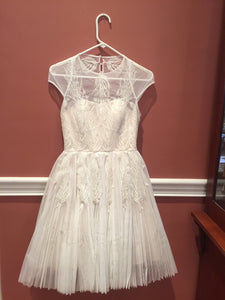 Ted Baker 'unsure' wedding dress size-04 PREOWNED