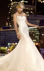 Essence of Australia A-Line Strapless Wedding Dress - essence of australia - Nearly Newlywed Bridal Boutique - 1