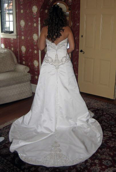 Priscilla of Boston 'Platinum Collection PL 263' - Priscilla of Boston - Nearly Newlywed Bridal Boutique - 3