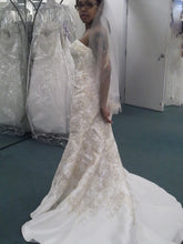 Load image into Gallery viewer, Oleg Cassini Strapless with Flared Hem - Oleg Cassini - Nearly Newlywed Bridal Boutique - 1