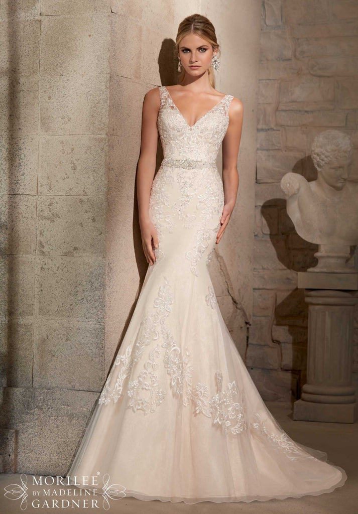 Mori Lee '2715' - Mori Lee - Nearly Newlywed Bridal Boutique - 1