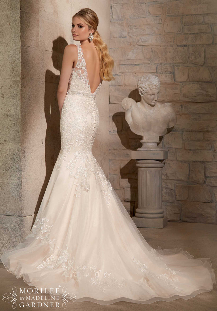 Mori Lee '2715' - Mori Lee - Nearly Newlywed Bridal Boutique - 3