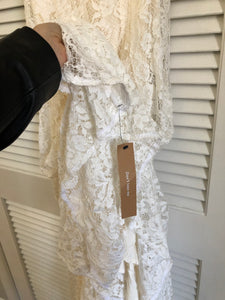 Reformation 'Merlot Dress' wedding dress size-06 NEW