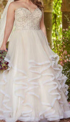 Essence of Australia 'D2169' size 16 new wedding dress front view on bride
