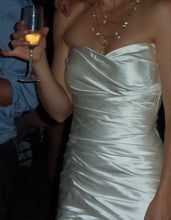 Load image into Gallery viewer, Valena Valentina 'Custom' size 2 used wedding dress front view on bride