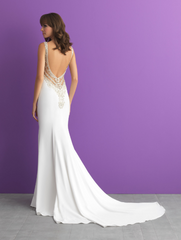 Allure 'Romance' size 10 new wedding dress back view on model