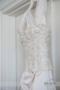 Monique Lhuillier 'Fitted Corset Dress' - Monique Lhuillier - Nearly Newlywed Bridal Boutique - 4