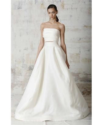 Monique Lhuillier 'Lenin Skirt' - Monique Lhuillier - Nearly Newlywed Bridal Boutique - 1