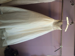 Reem Acra 'I'm Awesome' size 2 used wedding dress front view on hanger