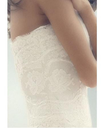 Melissa Sweet Hallie Strapless Wedding Dress - Melissa Sweet - Nearly Newlywed Bridal Boutique - 2