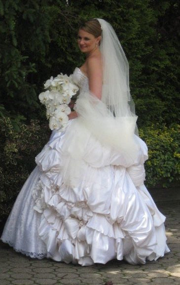 Pnina Tornai Sweetheart Ball Gown Style #0749 - Pnina Tornai - Nearly Newlywed Bridal Boutique - 1