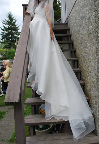 Lisa's Bridal Salon 'Strapless A-line Maternity'
