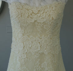 Vera Wang Luxe  'Nathalie' - Vera Wang - Nearly Newlywed Bridal Boutique - 4