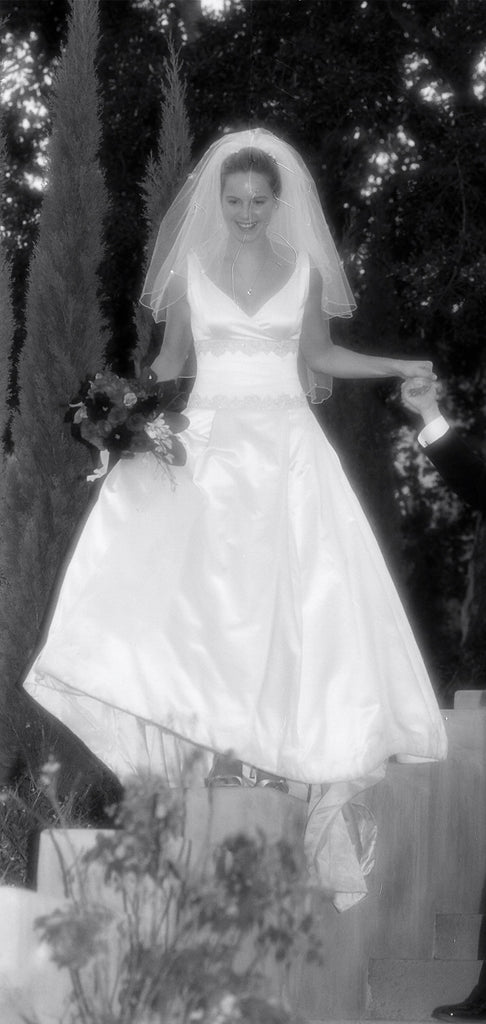 Michelle Roth 'Ivory Dress' - Michelle Roth - Nearly Newlywed Bridal Boutique - 1