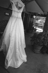 Michelle Roth 'Ivory Dress' - Michelle Roth - Nearly Newlywed Bridal Boutique - 2