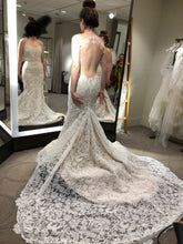 Load image into Gallery viewer, Ines Di Santo 'Delight' size 6 new wedding dress back view on bride