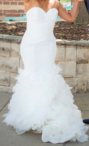Winnie Couture 'Esme' wedding dress size-08 PREOWNED