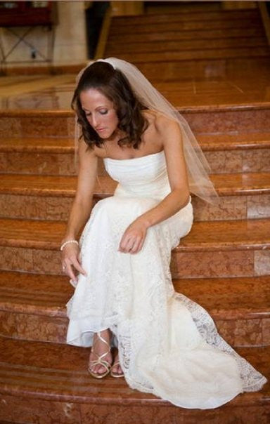 Monique Lhuillier 'Gemma' - Monique Lhuillier - Nearly Newlywed Bridal Boutique - 7
