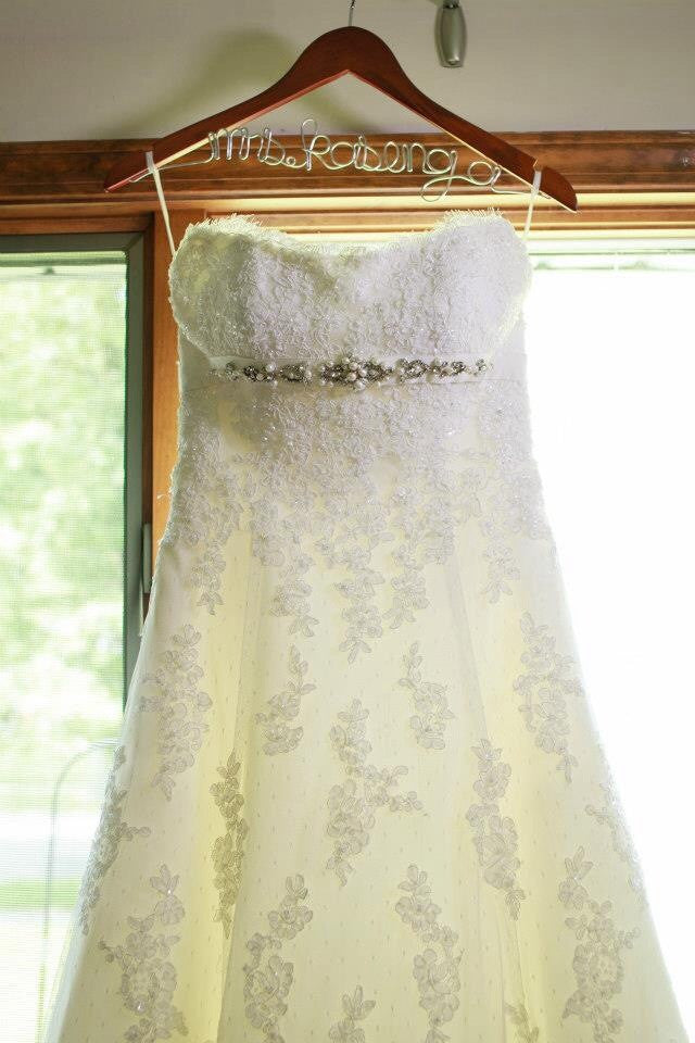 La Sposa Strapless Lace Wedding Dress - La Sposa - Nearly Newlywed Bridal Boutique - 3