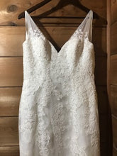 Load image into Gallery viewer, Allure Bridals 'Allure Romance 2606' size 8 used wedding dress front view on hanger
